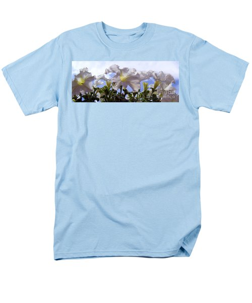 Men's T-Shirt  (Regular Fit) featuring the photograph Petunia Sky by Janice Westerberg