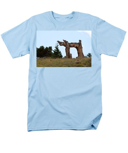 Pi In The Sky Men's T-Shirt  (Regular Fit) by Jim Garrison