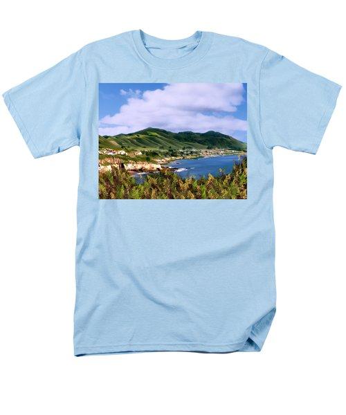 Pirates Cove Men's T-Shirt  (Regular Fit) by Kurt Van Wagner
