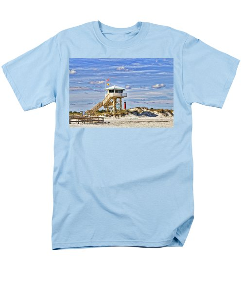 Ponce Inlet Scenic Men's T-Shirt  (Regular Fit) by Alice Gipson