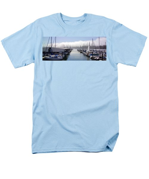 Men's T-Shirt  (Regular Fit) featuring the photograph Port Kingston Marina by Greg Reed
