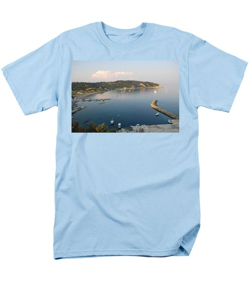 Men's T-Shirt  (Regular Fit) featuring the photograph Porto Bay by George Katechis
