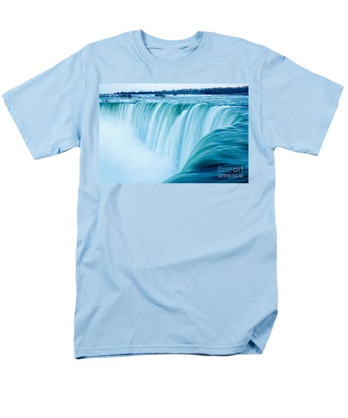 Power Of Niagara Falls Men's T-Shirt  (Regular Fit) by Peta Thames