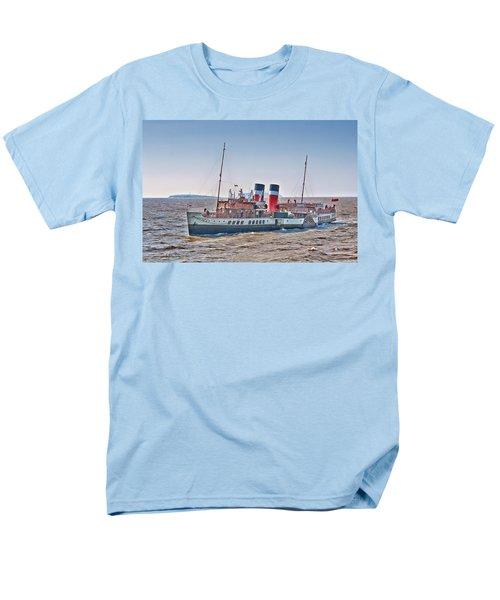 Ps Waverley Approaching Penarth Men's T-Shirt  (Regular Fit)