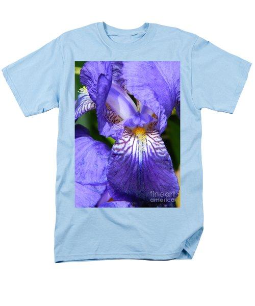 Purple Iris Men's T-Shirt  (Regular Fit) by Chalet Roome-Rigdon