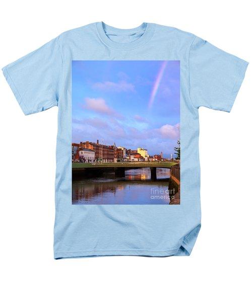Rainbow Over Cork Men's T-Shirt  (Regular Fit) by Daniel Heine