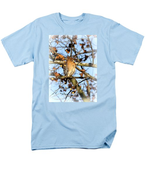 Red-shouldered Hawk - Img_7943 Men's T-Shirt  (Regular Fit) by Travis Truelove