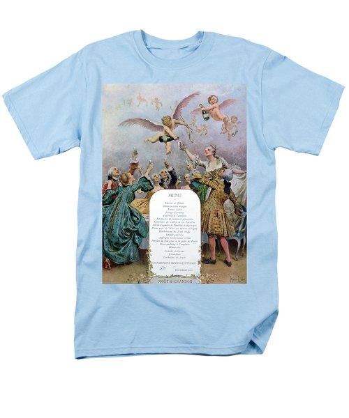 Ritz Restaurant Menu Men's T-Shirt  (Regular Fit)