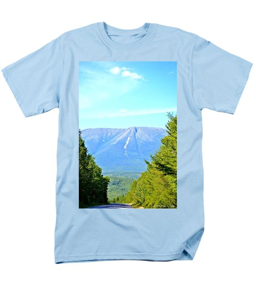 Road To Katahdin Men's T-Shirt  (Regular Fit) by Tara Potts