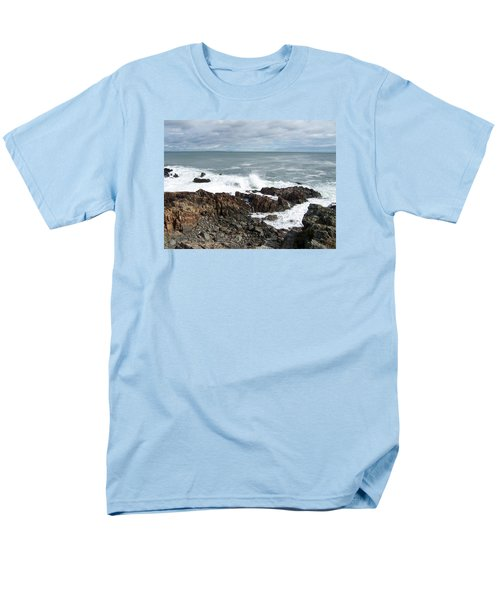 Rocky Coast Men's T-Shirt  (Regular Fit) by Catherine Gagne