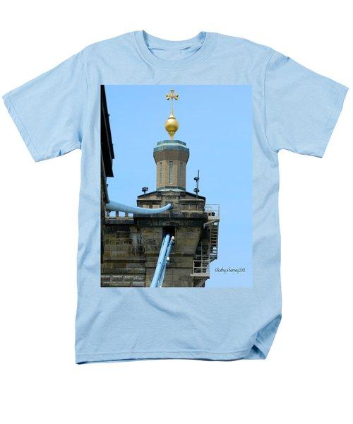 Roebling Bridge From Kentucky Men's T-Shirt  (Regular Fit) by Kathy Barney