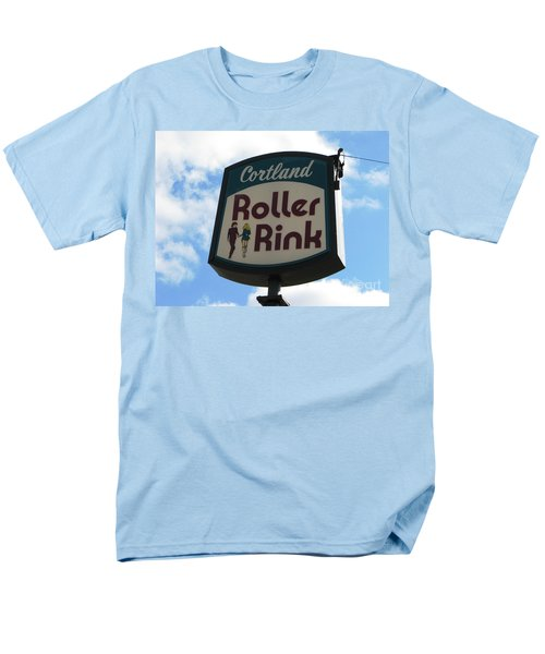 Roller Rink Men's T-Shirt  (Regular Fit) by Michael Krek
