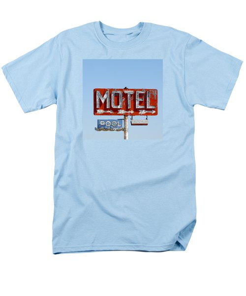 Route 66 Motel Sign Men's T-Shirt  (Regular Fit) by Art Block Collections