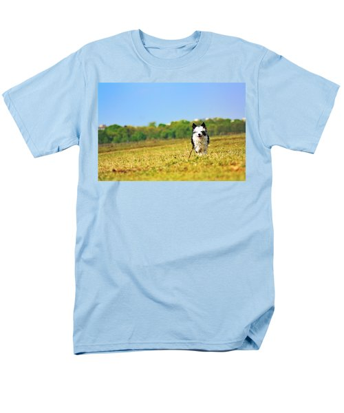 Running Dog Men's T-Shirt  (Regular Fit) by Daniel Precht