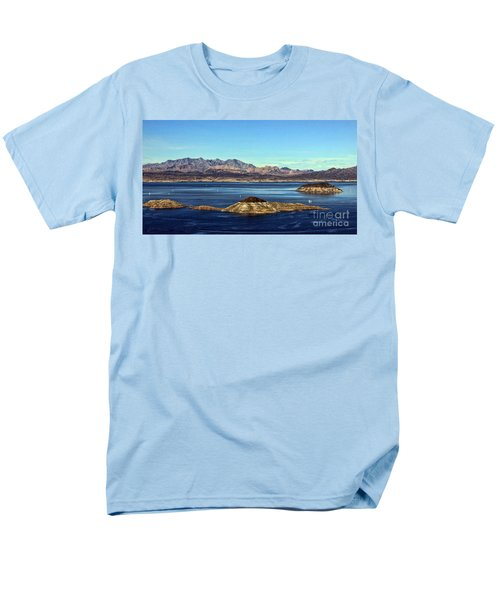 Sail Away Men's T-Shirt  (Regular Fit) by Tammy Espino
