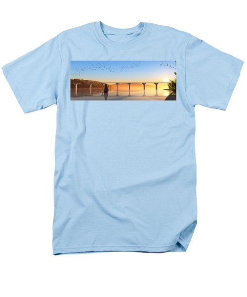 Sailing Out To Sea... Men's T-Shirt  (Regular Fit) by Tim Fillingim