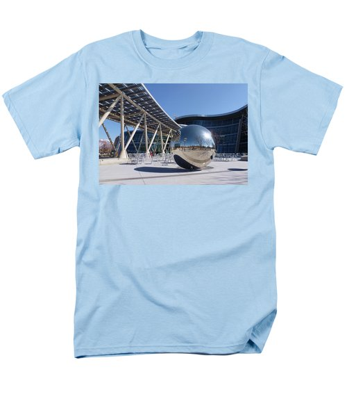 Men's T-Shirt  (Regular Fit) featuring the photograph Salt Lake City Police Station - 1 by Ely Arsha