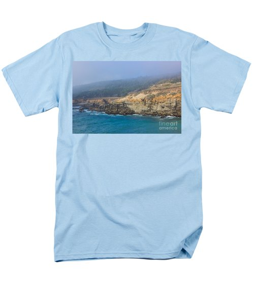 Salt Point State Park Coastline Men's T-Shirt  (Regular Fit) by Suzanne Luft