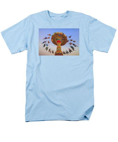 Santa Cruz Seaswing At Sunset 9 Men's T-Shirt  (Regular Fit)