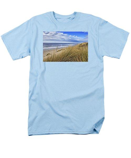 Sea Grass And Sand Dunes Men's T-Shirt  (Regular Fit)