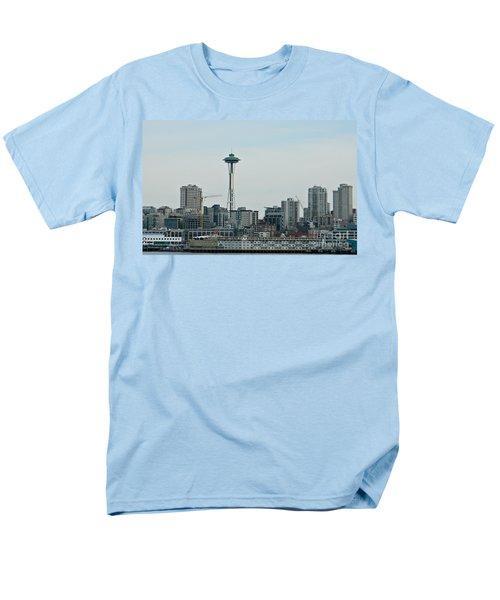 Seattle Washington Men's T-Shirt  (Regular Fit) by Chalet Roome-Rigdon