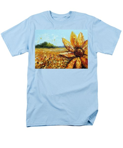 Seeing The Sun Men's T-Shirt  (Regular Fit) by Meaghan Troup
