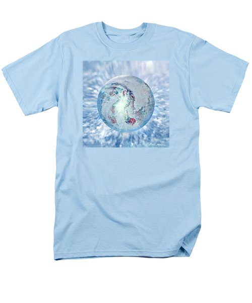 Men's T-Shirt  (Regular Fit) featuring the painting Shades Of Winter by Robin Moline