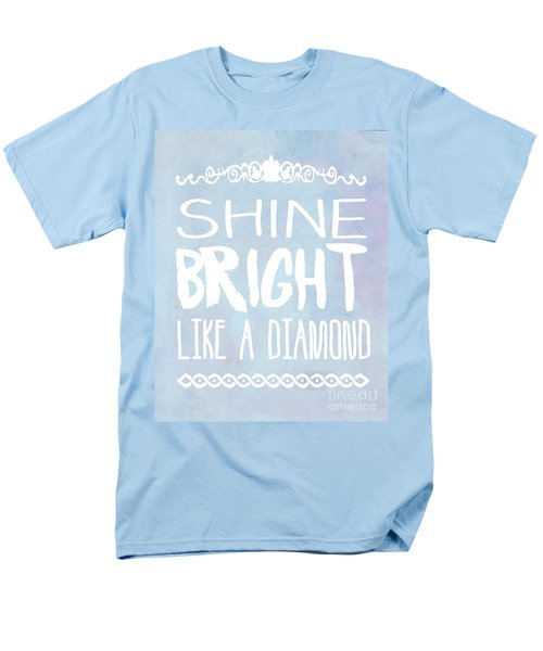 Shine Bright Blue Men's T-Shirt  (Regular Fit) by Pati Photography