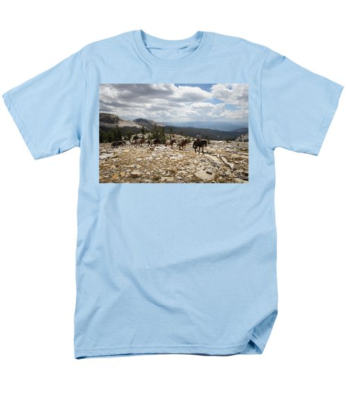 Sierra Trail Men's T-Shirt  (Regular Fit)