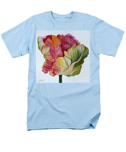 Simple Tulip Men's T-Shirt  (Regular Fit) by Debbie Hart