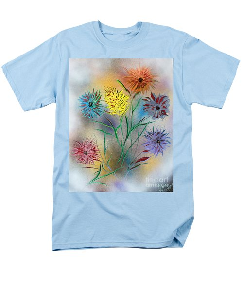 Six Flowers Men's T-Shirt  (Regular Fit) by Greg Moores