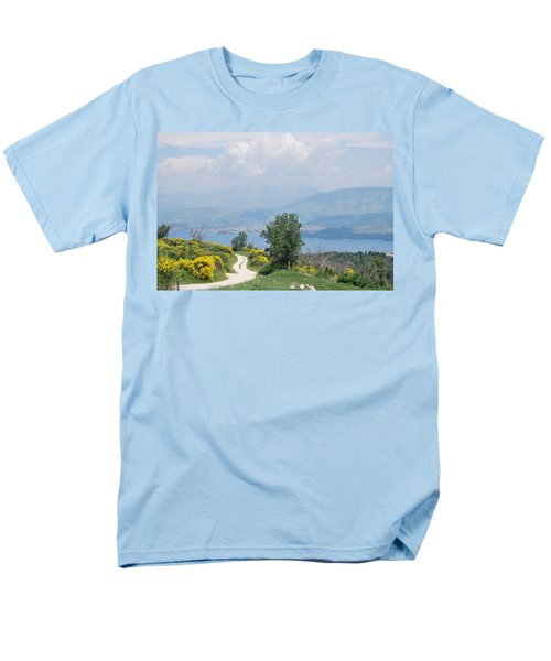 Six Islands 2 Men's T-Shirt  (Regular Fit) by George Katechis