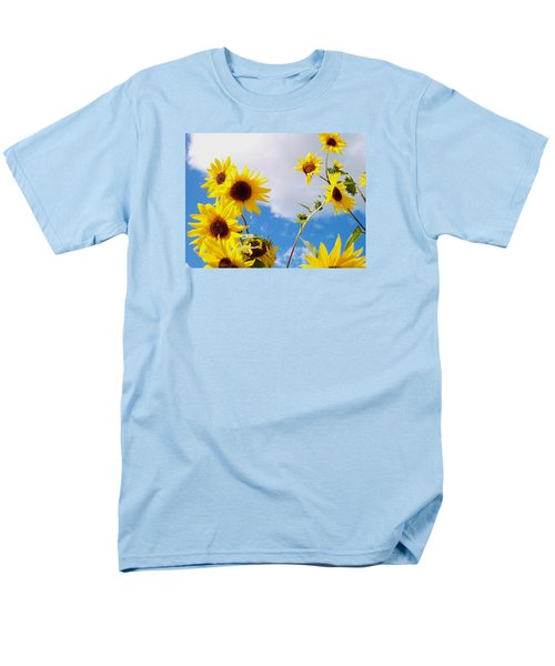 Men's T-Shirt  (Regular Fit) featuring the photograph Smile Down On Me by Mary Wolf