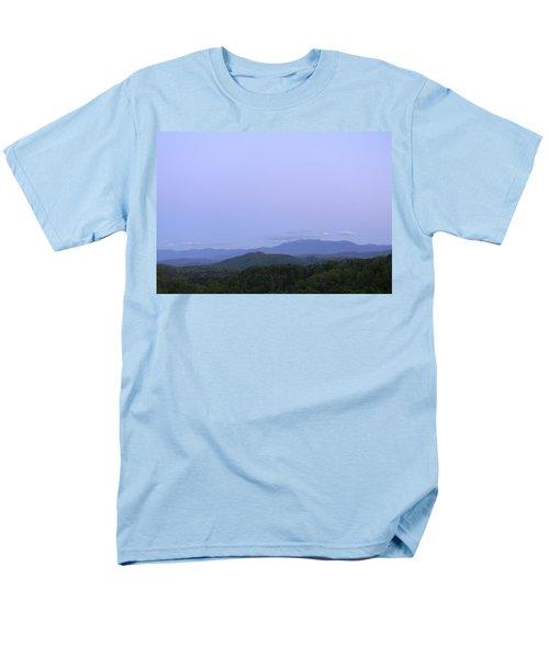 Smokies At Dusk Men's T-Shirt  (Regular Fit) by Mark Minier