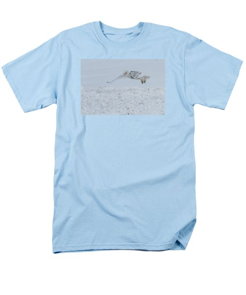 Men's T-Shirt  (Regular Fit) featuring the photograph Snowy Owl #1/3 by Patti Deters