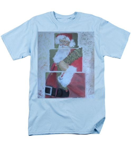 S'nta Claus Men's T-Shirt  (Regular Fit) by Claudia Goodell