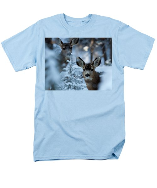 Men's T-Shirt  (Regular Fit) featuring the photograph Somebody To Watch Over Me by Jim Garrison