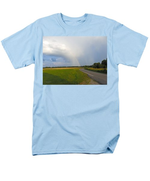 Somewhere Under The Rainbow Men's T-Shirt  (Regular Fit) by Nick Kirby