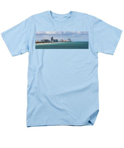 South Beach On A Summer Day Men's T-Shirt  (Regular Fit) by Ed Gleichman