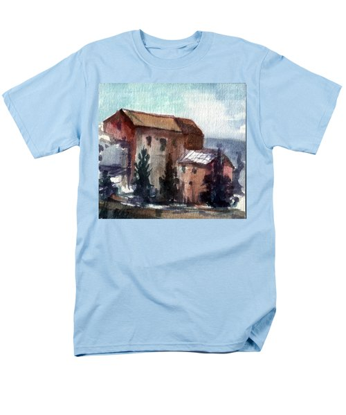 Men's T-Shirt  (Regular Fit) featuring the painting South by Mikhail Savchenko