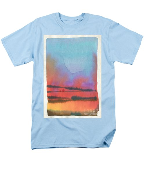 Men's T-Shirt  (Regular Fit) featuring the painting Southland by Donald Maier