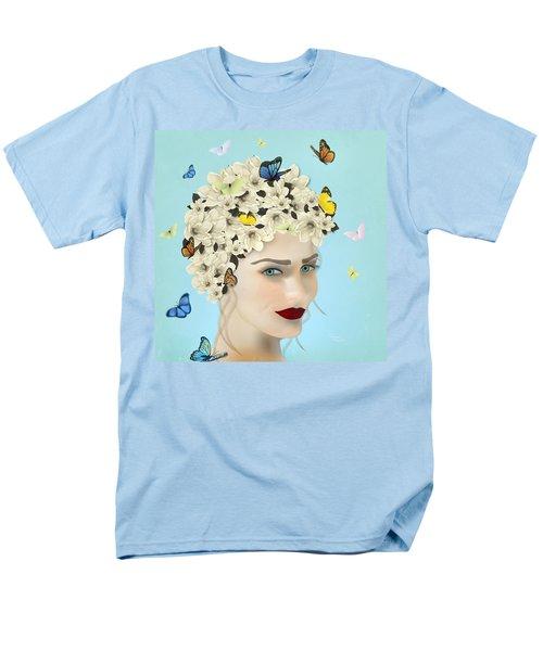 Spring Face - Limited Edition 2 Of 15 Men's T-Shirt  (Regular Fit) by Gabriela Delgado