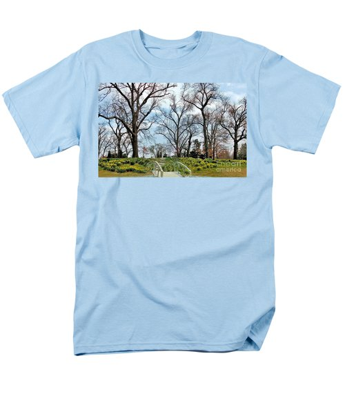 Spring Is Coming Men's T-Shirt  (Regular Fit) by Janette Boyd