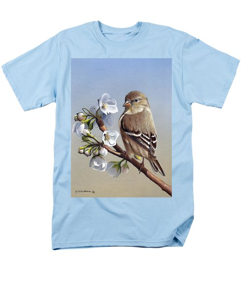 Men's T-Shirt  (Regular Fit) featuring the painting Spring Splendor by Mike Brown