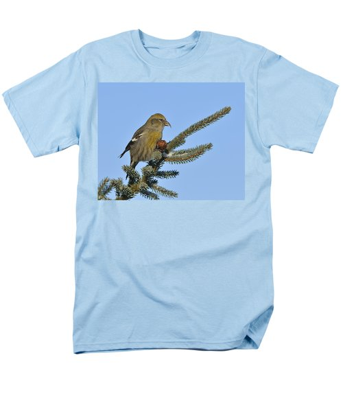 Spruce Cone Feeder Men's T-Shirt  (Regular Fit) by Tony Beck
