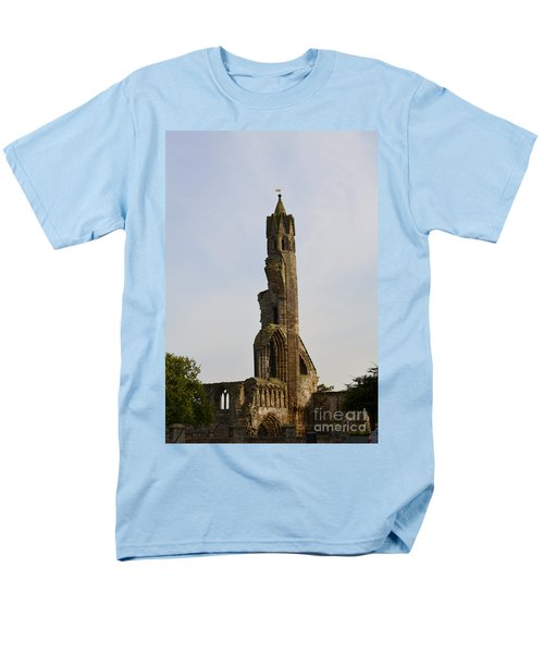 St Andrew's Cathedral Ruins Men's T-Shirt  (Regular Fit) by DejaVu Designs