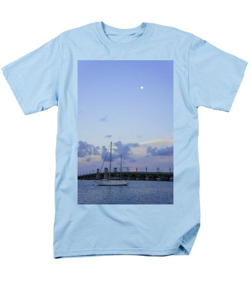St. Augustine Sunset Men's T-Shirt  (Regular Fit) by Laurie Perry