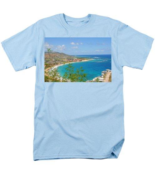 St. Kitts Men's T-Shirt  (Regular Fit) by Cindy Manero