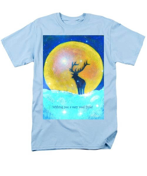 Stag Of Winter Men's T-Shirt  (Regular Fit) by Diana Haronis