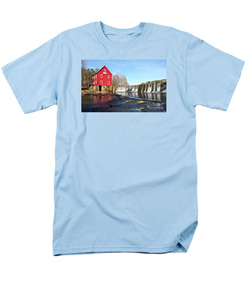 Men's T-Shirt  (Regular Fit) featuring the photograph Starr's Mill In Senioa Georgia 3 by Donna Brown
